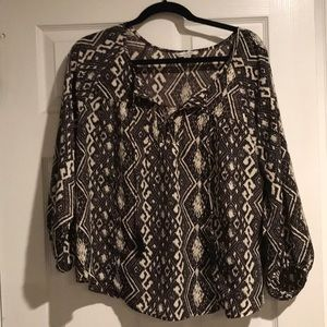 AmericN Eagle outfitters silky top